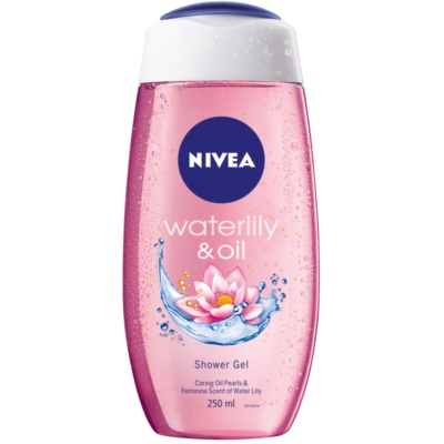 Nivea Waterlily & Oil gel douche énergisant