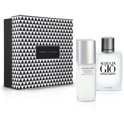fragrance forte pour hommes forts +  émulsion nourrissante hydratante