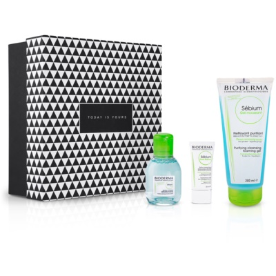 Skin care set for oily and acne-prone skin