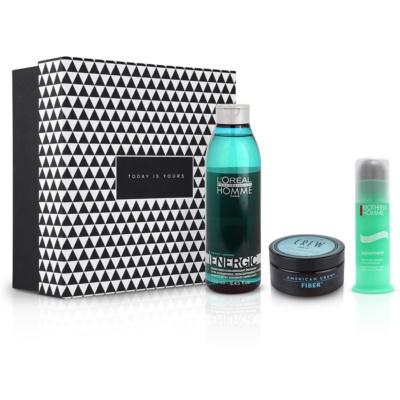 Komplexe Männerpflege für Haut und Haar
