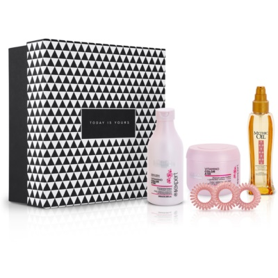 Notino The secret of gorgeous hair Unique gift set for colour-treated hair