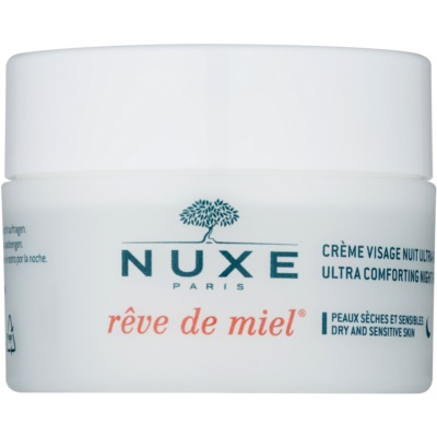 Feuchtigkeitsspendende Nachtcreme mit ernährender Wirkung für trockene Haut