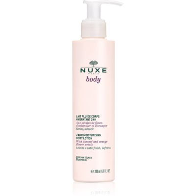 Nuxe Body Moisturizing Body Lotion For Dry Skin