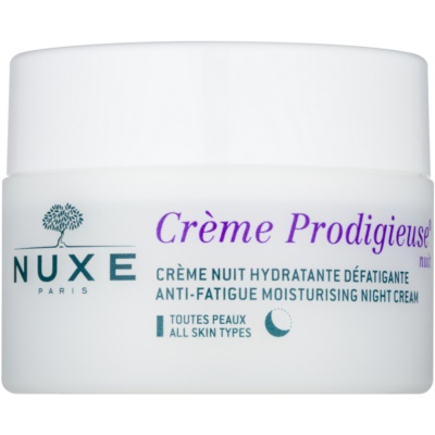 Nuxe Creme Prodigieuse nočna vlažilna krema za vse tipe kože