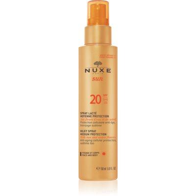 Zonnebrand Spray  SPF 20