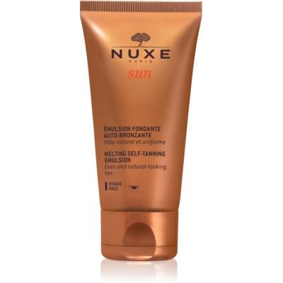 Nuxe Sun samoporjavitvena emulzija za obraz