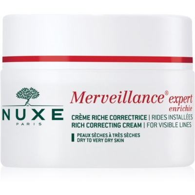 Nuxe Merveillance krema protiv bora za suhu i vrlo suhu kožu lica