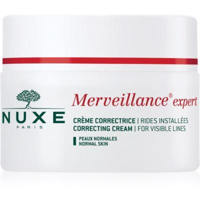 Nuxe Merveillance Anti-Falten Creme für Normalhaut