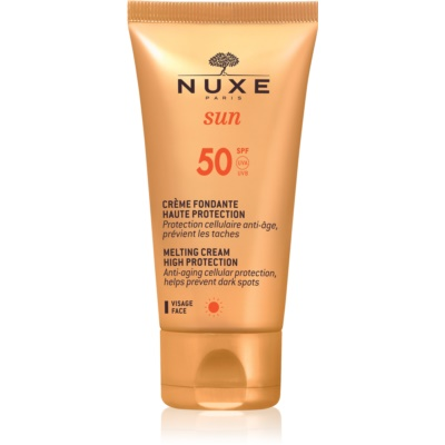 Nuxe Sun слънцезащитен крем за лице SPF 50