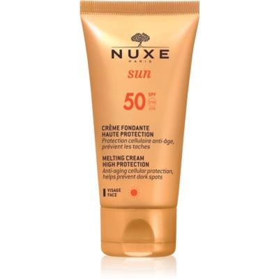 Nuxe Sun Zonnebrandcrème voor Gezicht  SPF 50