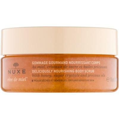 Nuxe Reve de Miel scrub nutriente corpo