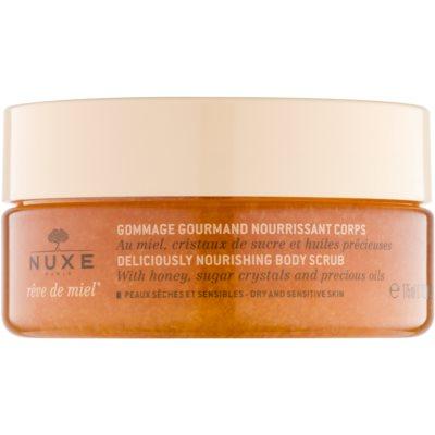 Nuxe Rêve de Miel поживний пілінг для тіла