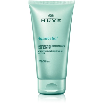 Nuxe Aquabella ексфолиращ почистващ гел за смесена кожа