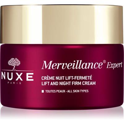 Nuxe Merveillance Expert noćna krema za učvršćivanje s lifting učinkom