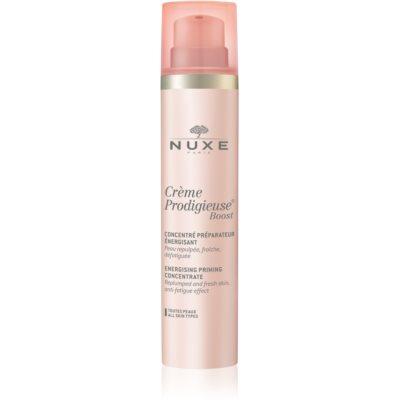 Nuxe Crème Prodigieuse Boost energetyzujący koncentrat przygotowujący skórę