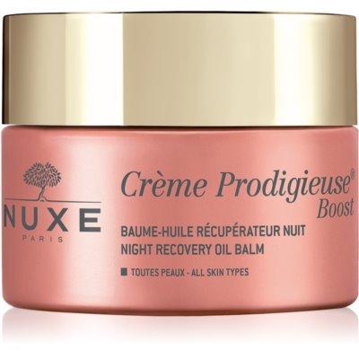 Nuxe Crème Prodigieuse Boost нощен възстановяващ балсам с регенериращ ефект