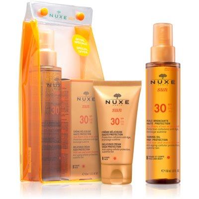 Nuxe Sun kozmetični set I. (za sončenje)