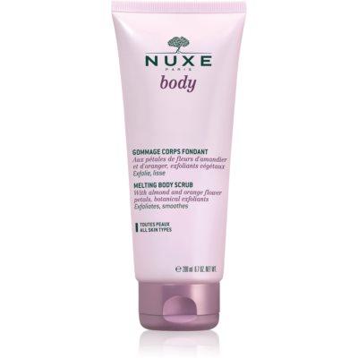 Nuxe Body gommage de douche pour tous types de peau
