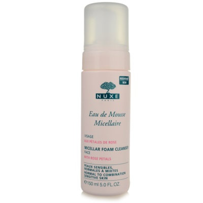 Nuxe Cleansers and Make-up Removers espuma limpiadora para pieles normales y mixtas