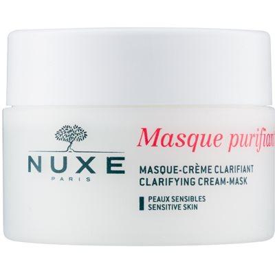 čistilna maska za občutljivo kožo