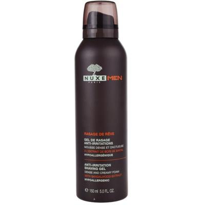 Nuxe Men гель для гоління проти подразнення та свербіння шкіри