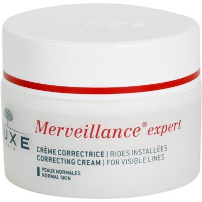 Nuxe Merveillance crème anti-rides pour peaux normales