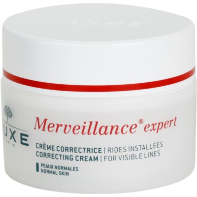 Nuxe Merveillance crema antiarrugas para pieles normales