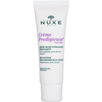 Nuxe Creme Prodigieuse crème hydratante pour peaux sèches