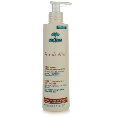 Nuxe Reve de Miel Ultra Comfortable Body Cream For Dry Skin