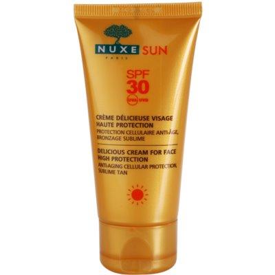слънцезащитен крем за лице SPF 30