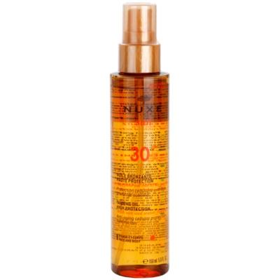 Nuxe Sun олио за загар SPF 30