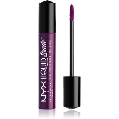 NYX Professional Makeup Liquid Suede™ Cream flüssiger wasserbeständiger Lippenstift mit mattierendem Finish