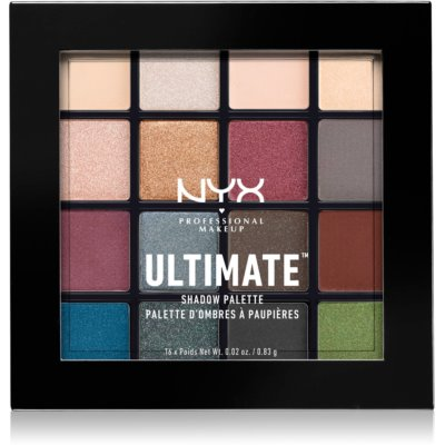 NYX Professional Makeup Ultimate Shadow paletka očných tieňov
