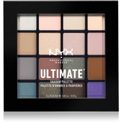 NYX Professional Makeup Ultimate Shadow палитра сенки за очи