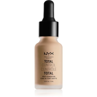 NYX Professional Makeup Total Control Drop Foundation tekoči puder odtenek 07 Natural 13 ml