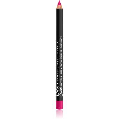 NYX Professional Makeup Suede Matte  Lip Liner crayon à lèvres fini mat