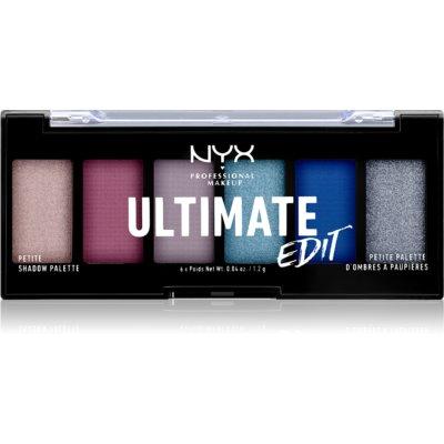 NYX Professional Makeup Ultimate Edit Petite Shadow палетка теней для век