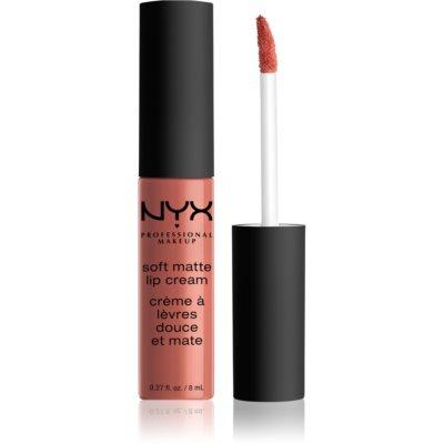 NYX Professional Makeup Soft Matte Lip Cream lichte vloeibare matterende lippenstift