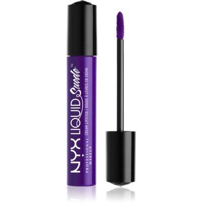 NYX Professional Makeup Liquid Suede™ Cream рідка водостійка губна помада з матуючим ефектом наприкінці