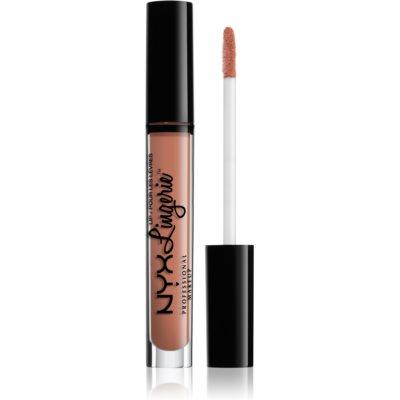 NYX Professional Makeup Lip Lingerie batom líquido com acabamento mate tom 07 Satin Ribbon 4 ml