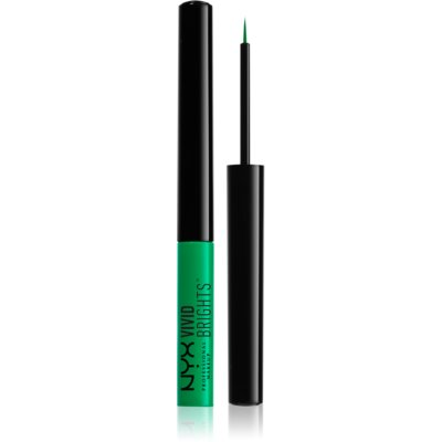 NYX Professional Makeup Vivid Brights eye-liners liquides de couleur