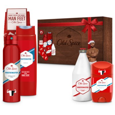 Old Spice Whitewater Gift Set  V. (voor Mannen )