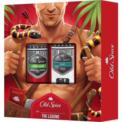 Old Spice Legend Gift Set  II.