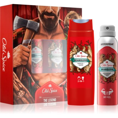 Old Spice Bearglove Cosmetic Set I.