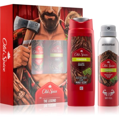 Old Spice Timber confezione regalo I.
