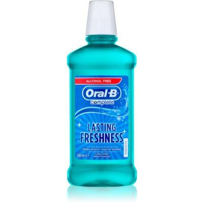 Oral B Complete Apa de gura impotriva placii dentare si a gingivitei.