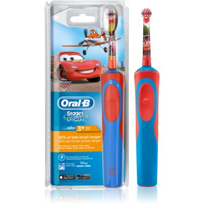 Oral B Stages Power Cars D12.513.1 električna četkica za zube za djecu