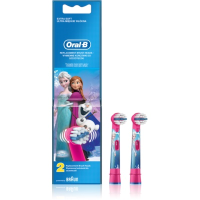 Oral B Stages Power Frozen EB10K Vervangende Opzetstuk  Extra Soft