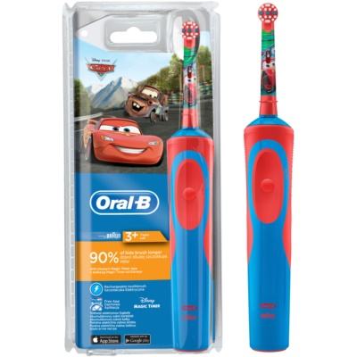 Oral B Stages Power Cars D12.513.1 elektromos fogkefe gyermekeknek