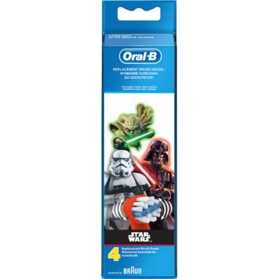 Oral B Stages Power EB10 Star Wars ανταλλακτική κεφαλή για οδοντόβουρτσα έξαιρετικά μαλακό
